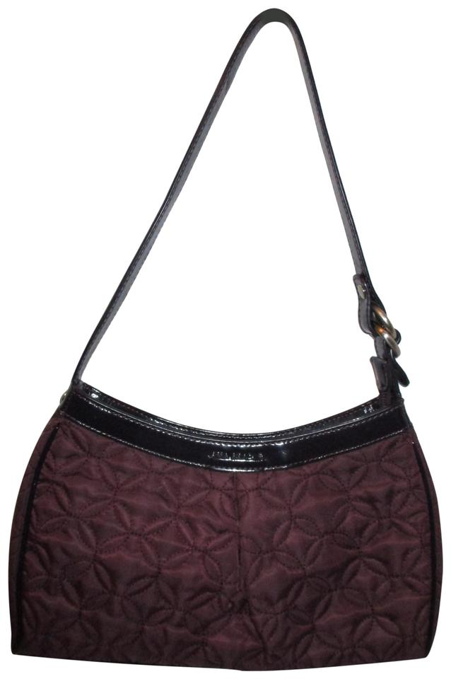 9d3bc78cbe8a Vera Bradley Quilted Deep Purple Nylon Shoulder Bag - Tradesy