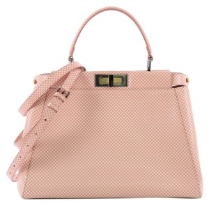 Fendi Leather Handbag Shoulder Bag