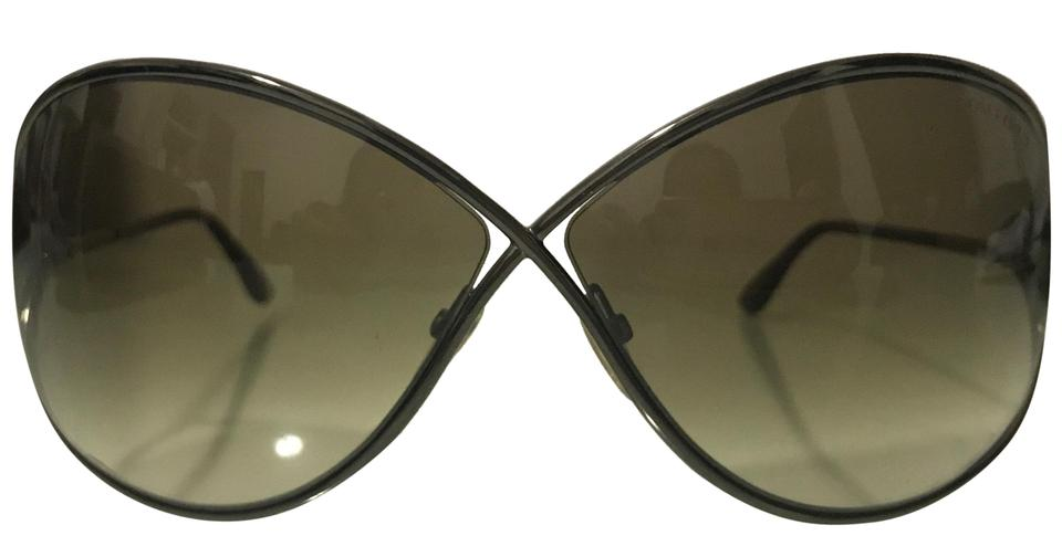 e988ff29470 Tom Ford Dark Brown Miranda Sunglasses - Tradesy