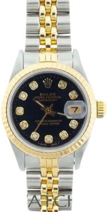 Rolex Ladies Datejust 2-tone with Diamond Markers Watch