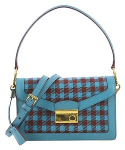 Prada Tweed Shoulder Bag