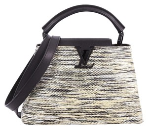 e8715947793 Louis Vuitton Handbag Broderies Tote in silver and gold
