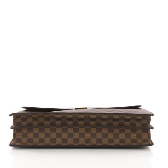 Louis Vuitton Large Canvas Tote in damier ebene