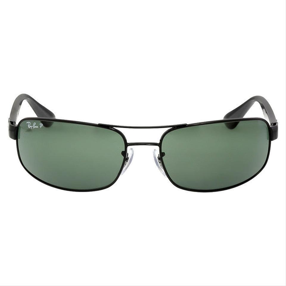 36c2511a46ec5 ... low price ray ban black frame green classic g 15 polarized lens rb3445  002 bf374 ca5a8