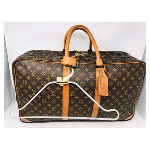 Louis Vuitton Guaranteed Made In France Brown Travel Bag