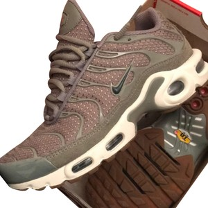 44d254454c This Item Has Expired. Nike Athletic - item med img. Nike. Olive Green Airmax  Plus Sneakers