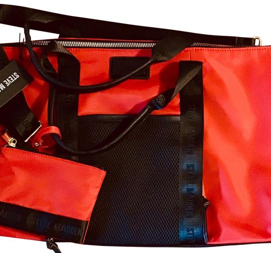 Steve Madden Overnight Workout Red And