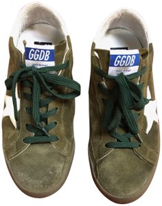 Golden Goose Deluxe Brand Military green Athletic