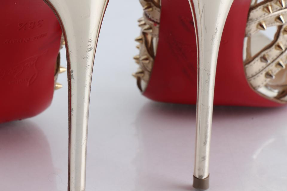 13e6145c17c Gold Spiked Circus City Pumps