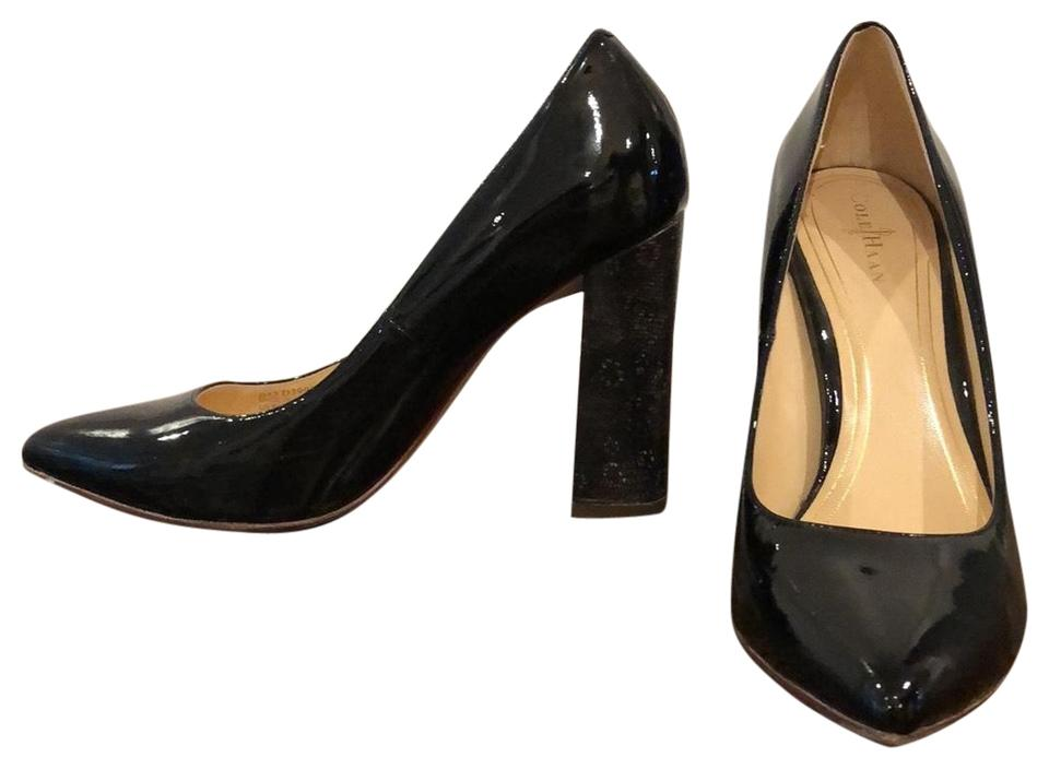 buy online 86420 8e657 Cole Haan Black with Faux Snake Skin Heels Nike Air Pumps