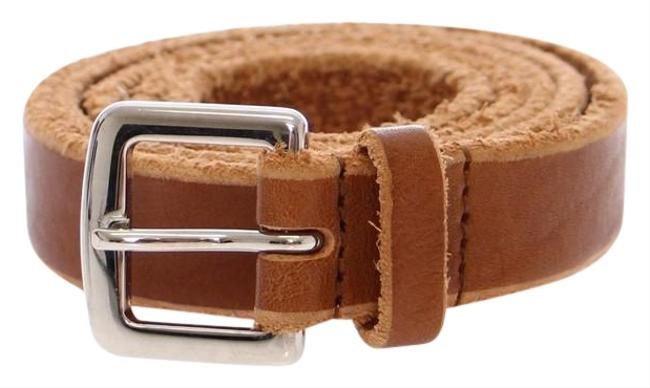 Item - Brown D10408-1 Women's Leather Logo (95 Cm / 38 Inches) Belt