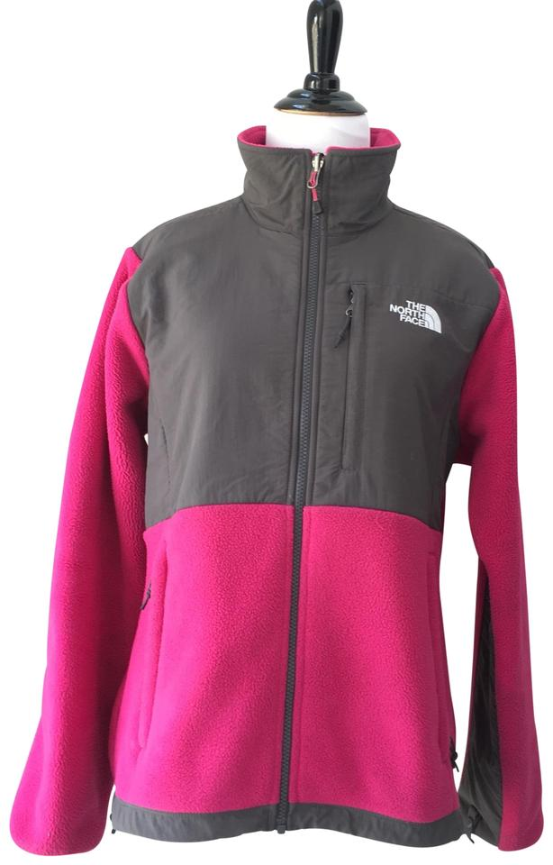 526706e27c3d The North Face Pink Gray Denali Jacket Coat Size 8 (M) - Tradesy