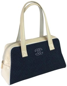 Chanel Tote in BLUE WHITE