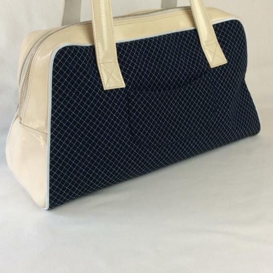 Chanel Tote in BLUE WHITE Image 1