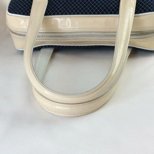 Chanel Tote in BLUE WHITE Image 3
