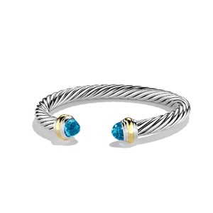 David Yurman David Yurman 7mm Topaz Cable Classics Bracelet