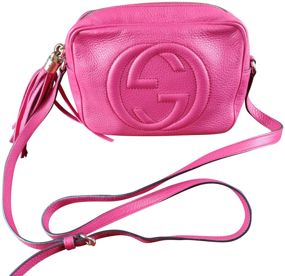 9716f9b5121e Gucci Soho Disco Camera Logo Leather Cross Body Bag - Tradesy