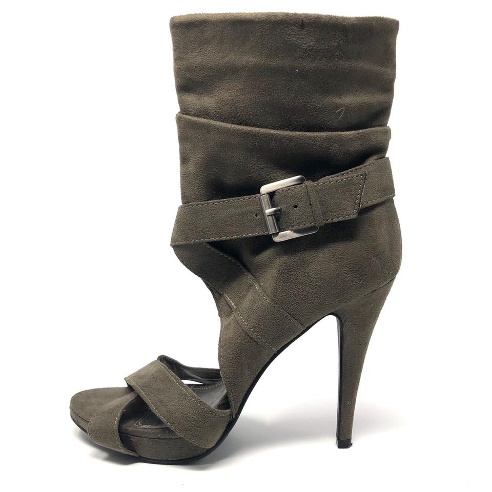 a0c9b793db Chinese Laundry Charcoal Gray Brown Leon Heels Pumps Size US 8 ...