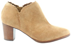 Jack Rogers Marianne Scalloped Suede Oak Boots