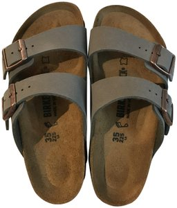 Birkenstock Leather New Stone Sandals