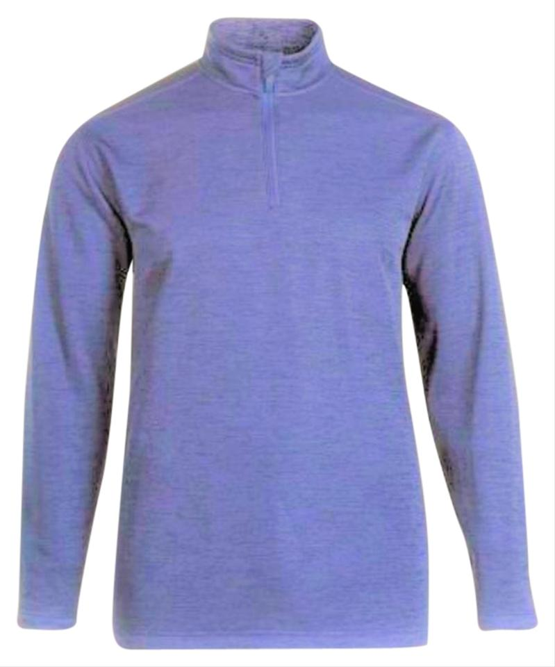 7eefdd567 Women's Long Sleeve 1/4 Zip Mock - Size 1x Periwinkle Sweater - Tradesy