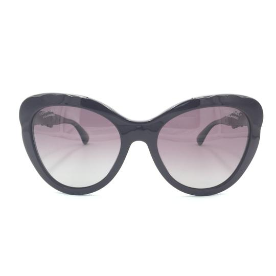 Chanel Butterfly Blooming Burgundy Polarized Sunglasses 5354 1461/K5