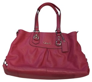 Coach Satchel In Mauve
