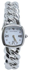 David Yurman Albion 23mm Stainless Steel Watch with Diamond White Face