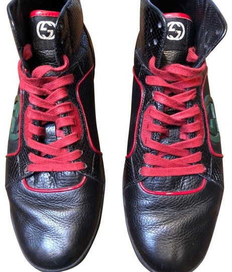 Gucci Black with Red and Green 295322