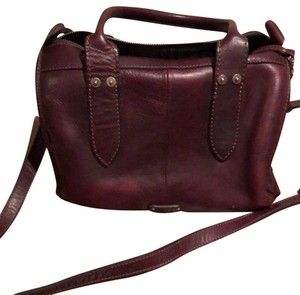 Frye Satchel in Burgundy