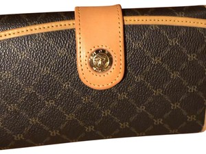 Rioni Rioni Canvas and Leather Wallet