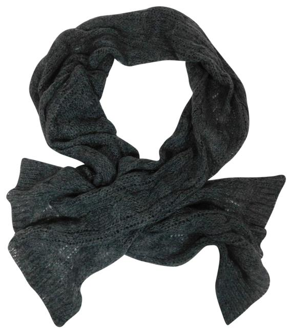 Item - Gray New Mohair Blend Scarf/Wrap