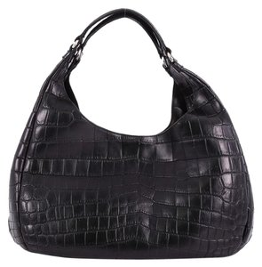Bottega Veneta Crocodile Hobo Bag