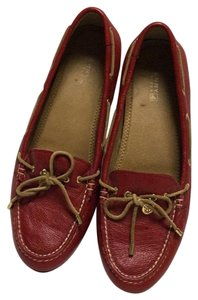 Sperry Red Flats