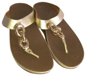 FitFlop Gold Sandals