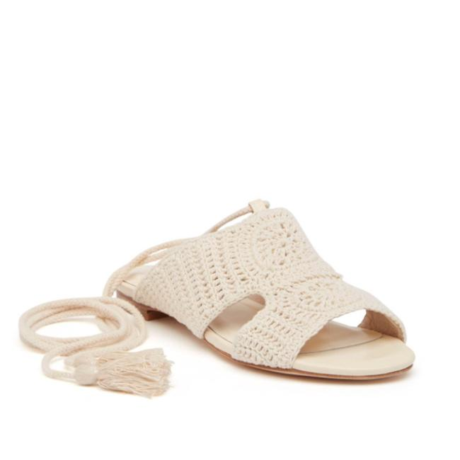Item - Ivory Fai Macrame Sandals Size US 9 Regular (M, B)