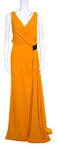 Yellow Maxi Dress by N°21 Pleated Detail Lace Trim