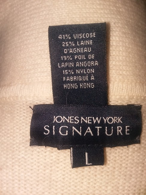 Jones New York Pearl Silver Hardware Dryclean Only Cardigan Image 9