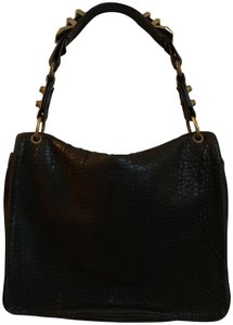 Alexander Wang Studded Leather Satchel in Black