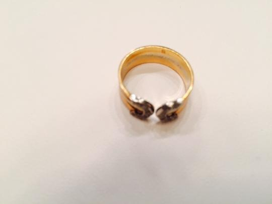 Cartier 18k tricolor ring Image 1