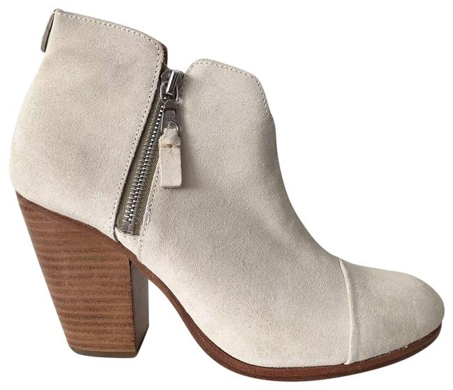 Item - Off White Margot Waxy Suede Leather Ankle Boots/Booties Size EU 38.5 (Approx. US 8.5) Regular (M, B)