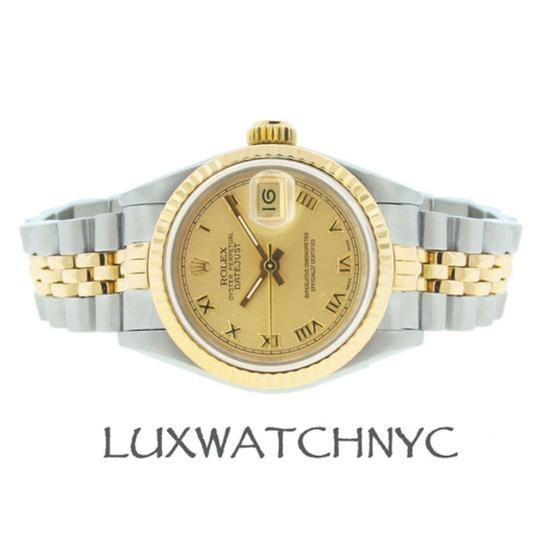 Rolex Ladies Datejust 2-tone with Box & Appraisal Watch Image 1