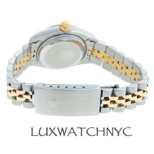 Rolex Ladies Datejust 2-tone with Box & Appraisal Watch Image 2
