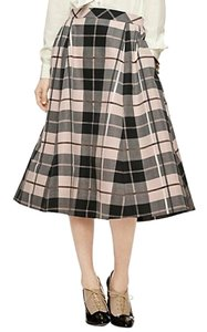 Kate Spade Skirt Pink, Blush, Black, Grey, Brown, Plaid