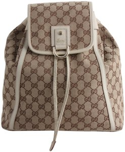 Gucci Monogram Backpack