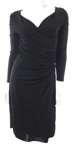 L.K. Bennett Ruched Party Faux Wrap Kate Middleton Dress