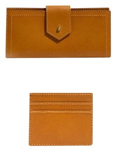 Madewell Post Wallet/Card Case SET