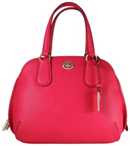 Coach Leather 888067653625 Satchel in Pink