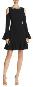 Eliza J Bell Sleeves Embellished Dress