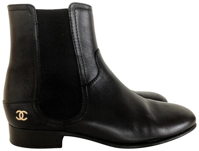 Item - Black Chelsea Boots/Booties Size EU 38 (Approx. US 8) Narrow (Aa, N)